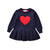 HEART Knitted Dress