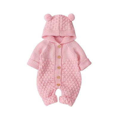 BEAR Knitted Romper