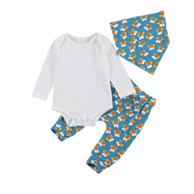 BEE Outfit with Bandana Bib