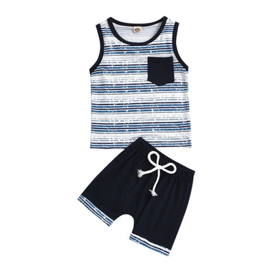FREDERIC Striped Summer Outfit