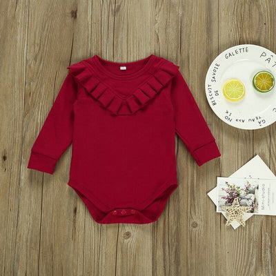 KATE Long Sleeve Romper