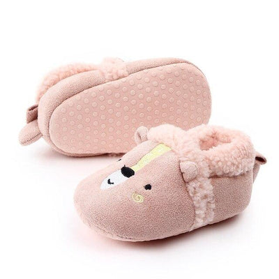 HAPPY FEET Winter Slippers