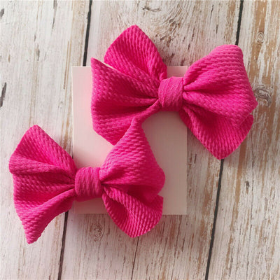 Bowtie Hairclips