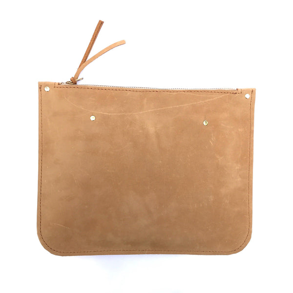 Modern Clutch - Leather Pasture