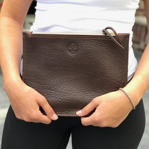 leather-pasture - The Modern Clutch - leather pasture -