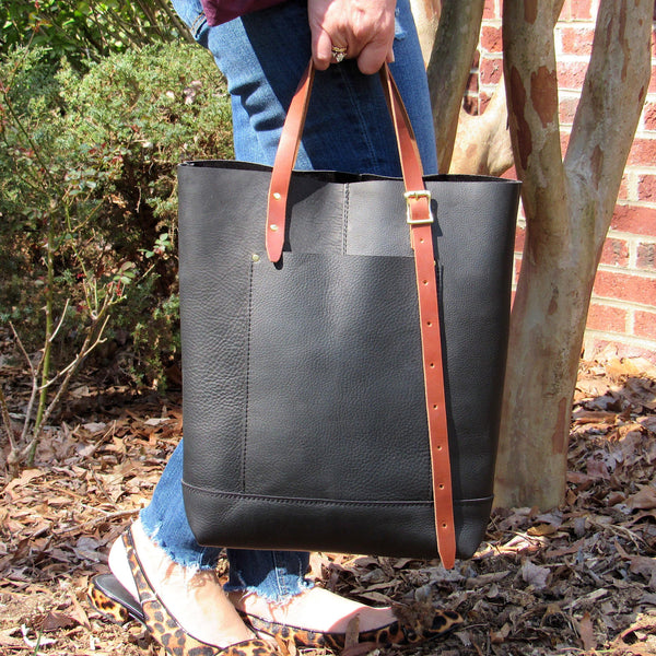 Oak City Tote - Leather Pasture
