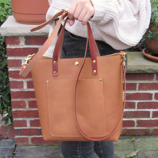 Small Honey Classic Crossbody Tote
