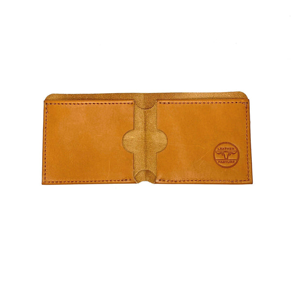 Bi-fold Wallet - Leather Pasture