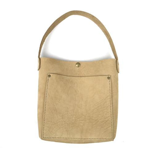 Mini Hobo Tote - Leather Pasture