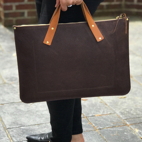 Laptop Bag - Leather Pasture