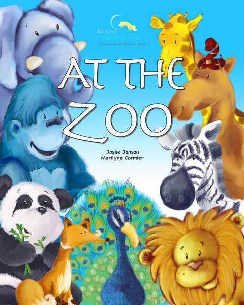 At the Zoo (soft cover - Girl)