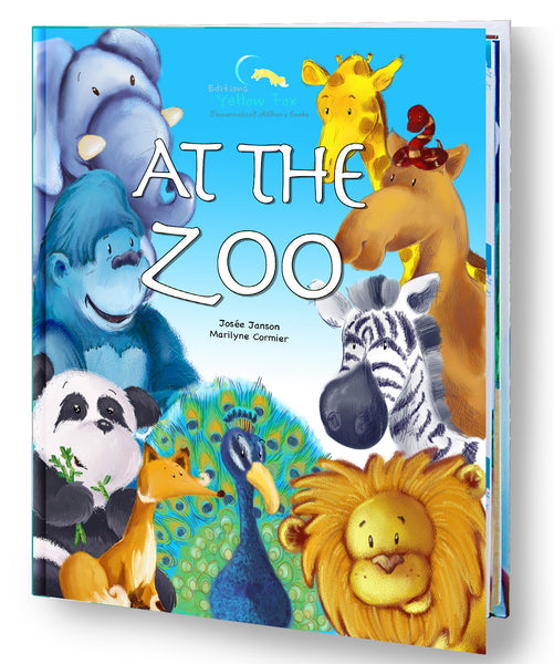 At the Zoo (Hardcover - Girl)