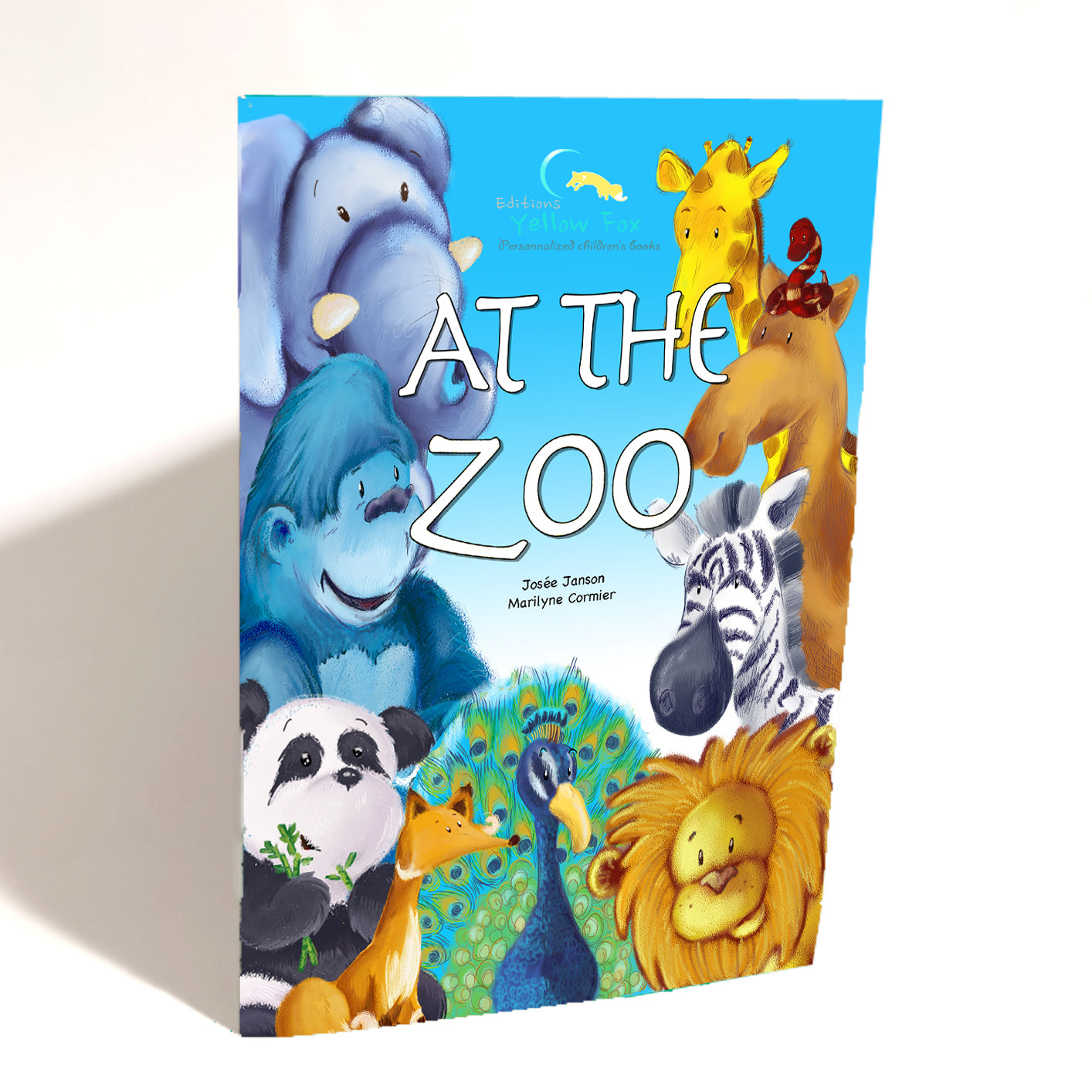 At the Zoo (mini book - Boy)