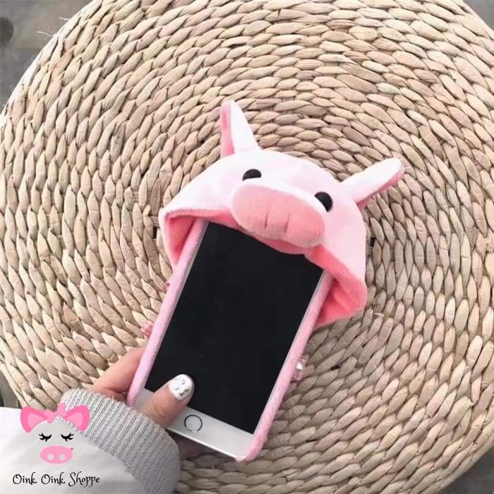 Cell Phone Piggy Hoodie - For iPhone 6 6s