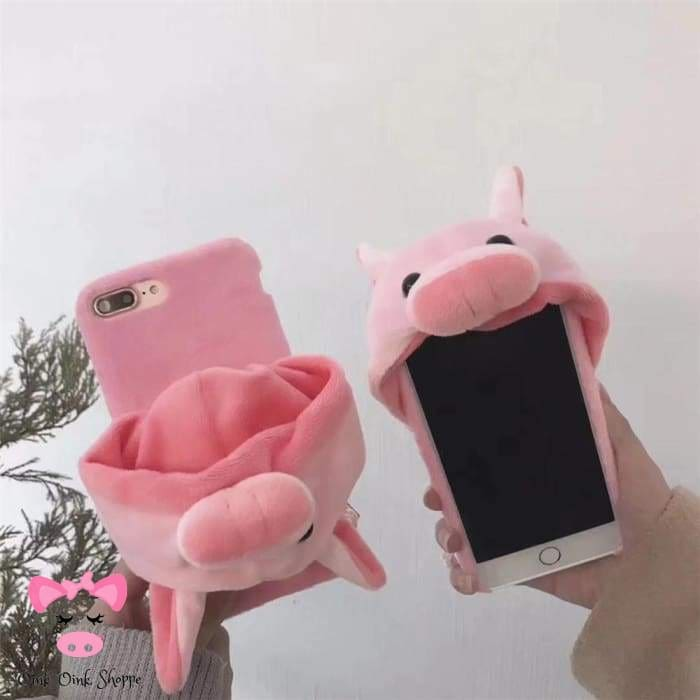 Cell Phone Piggy Hoodie