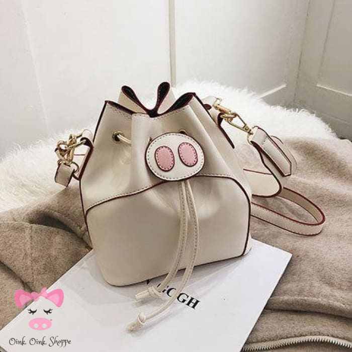 Chic Oink Bag - Cream