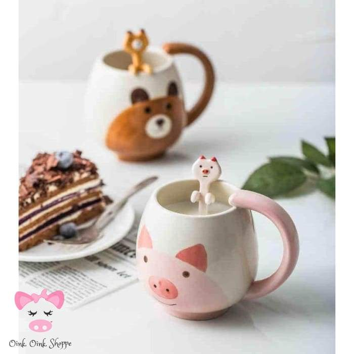 Coffee Tea Or Pig Mug