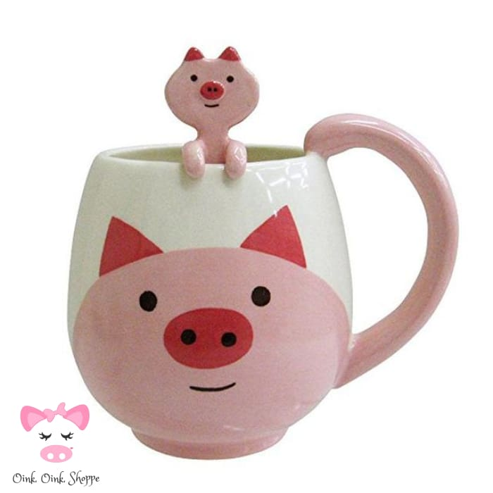 Coffee Tea Or Pig Mug - Piggy