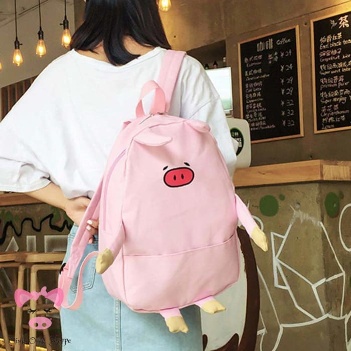 Cool Pig Backpack - Pink / 40Cm X 28Cm X 12Cm