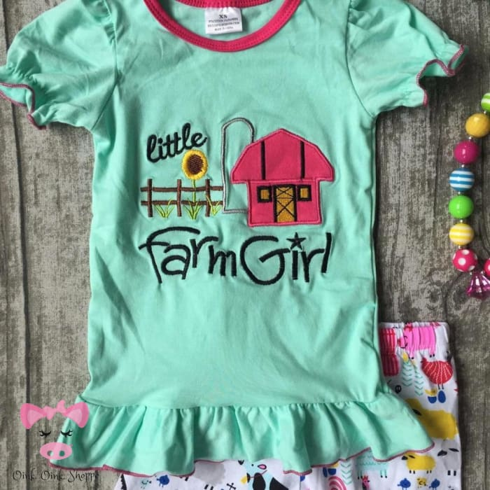 Farm Girl Capri Set
