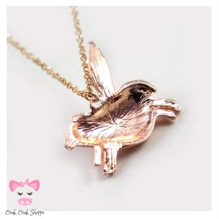 I Can Fly Pig Necklace