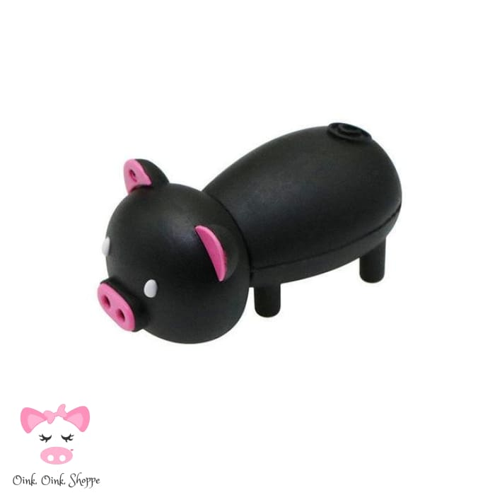 Little Pig USB 32GB Flash Drive - 32GB / Black