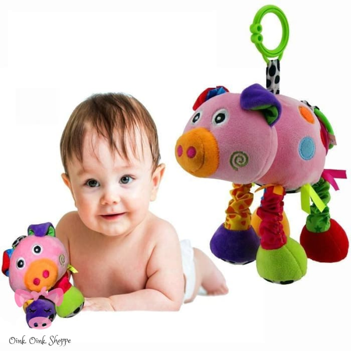 Mobile Sensory Piggy Toy
