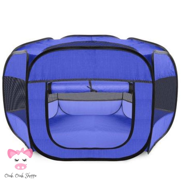 Pack N Play Portable Pig Pen - Blue