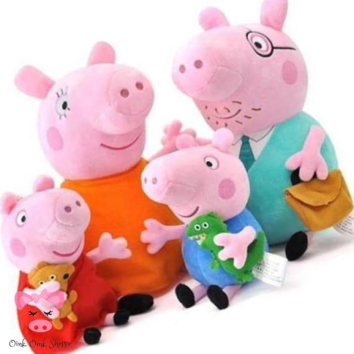 Peppa George Pig Family Plush Toys