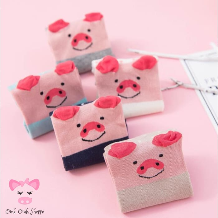 Pigdorable Crew Sock Set