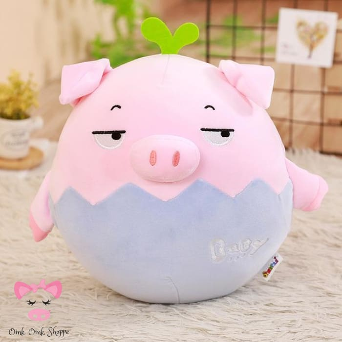 Pigfectly Plush Toy - 17cm / Blue