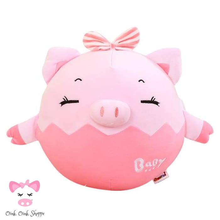 Pigfectly Plush Toy - 17cm / Pink