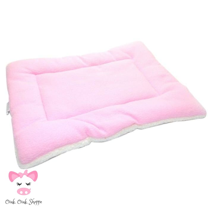 Pigfectly Soft And Comfy Fleece Mat - Pink / Large / Us
