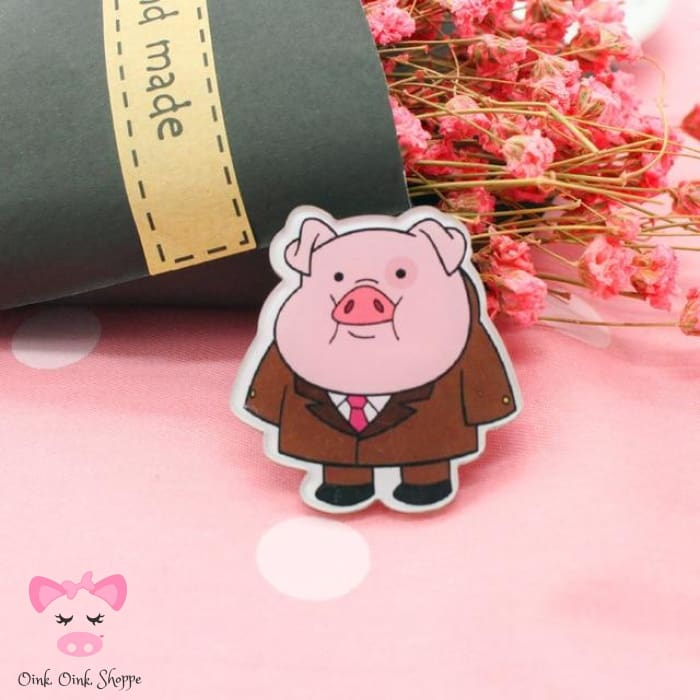 Piggy Icon Pin Collection - 1