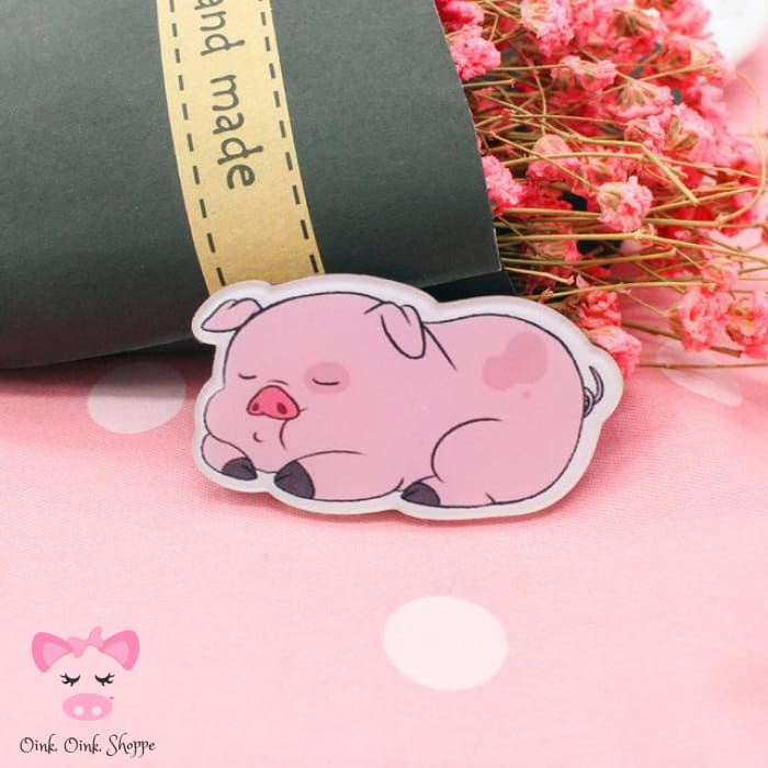 Piggy Icon Pin Collection - 3