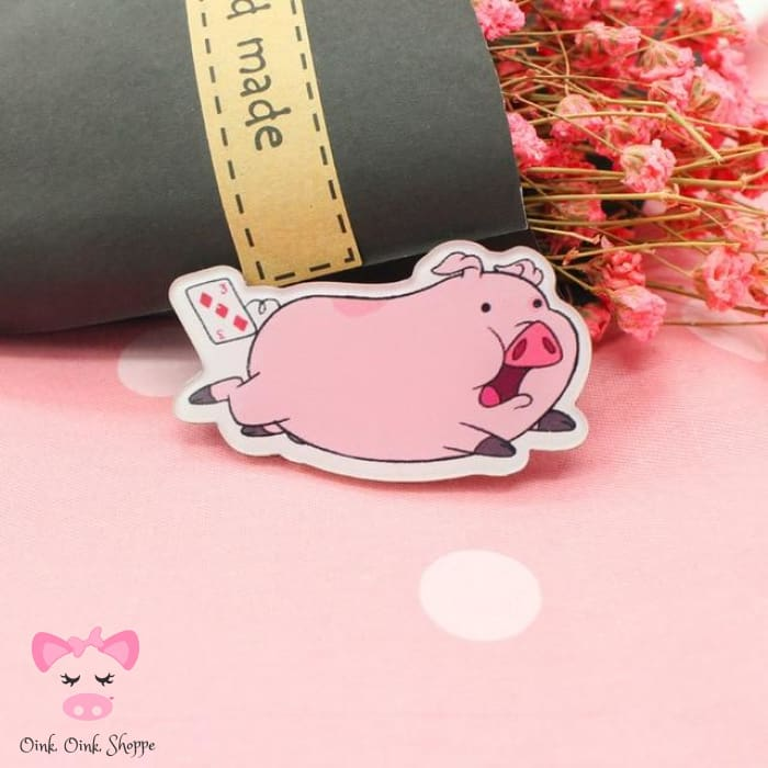 Piggy Icon Pin Collection - 4