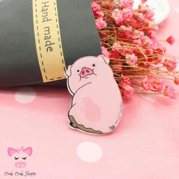 Piggy Icon Pin Collection - 5