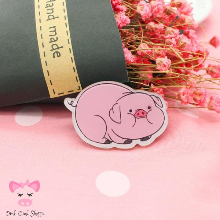 Piggy Icon Pin Collection - 6