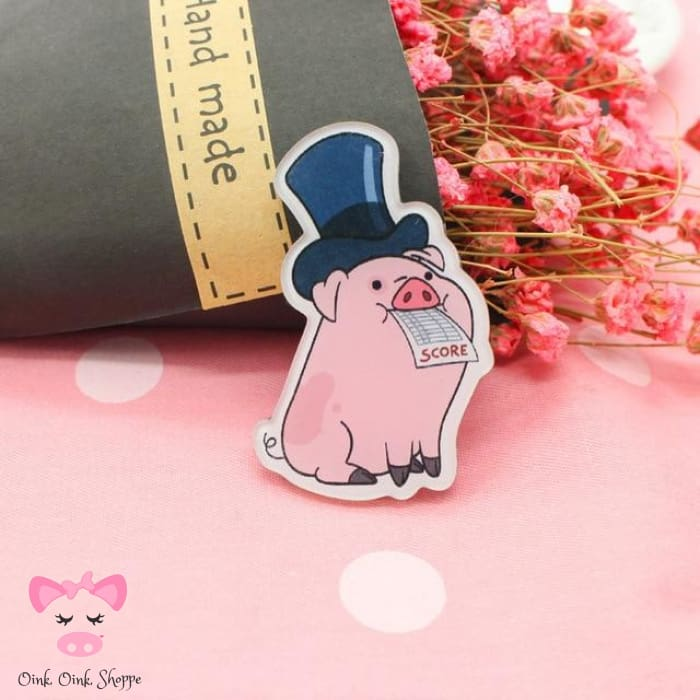 Piggy Icon Pin Collection - 7