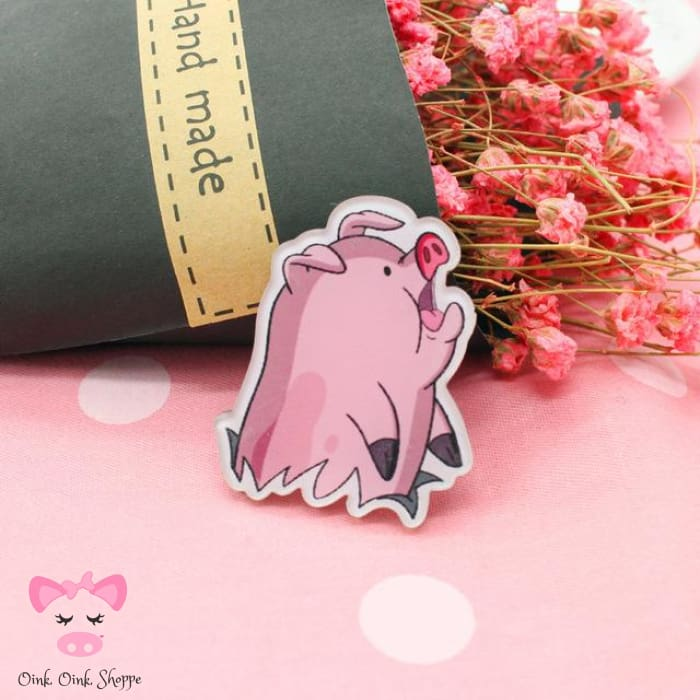 Piggy Icon Pin Collection - 8