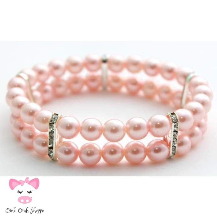 Piggy Perfect Pearls - Baby Pink / S