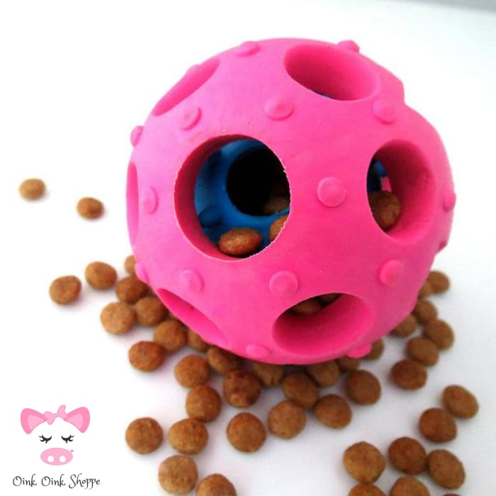 Piggy Please Treat Ball - Pink / 7Cm