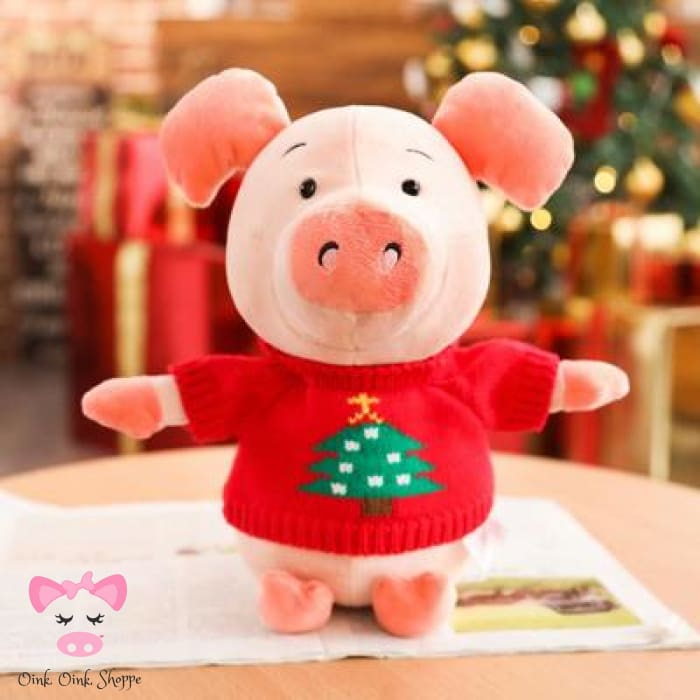 Pigmas Buddies - Christmas Tree Sweater / 30 Centimeter