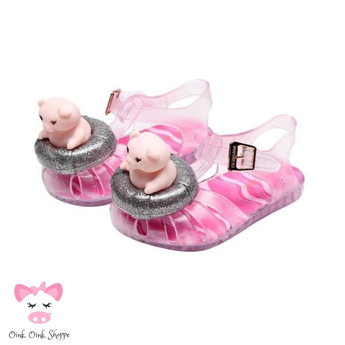 Pigtawesome Water Sandals - Pink / 6