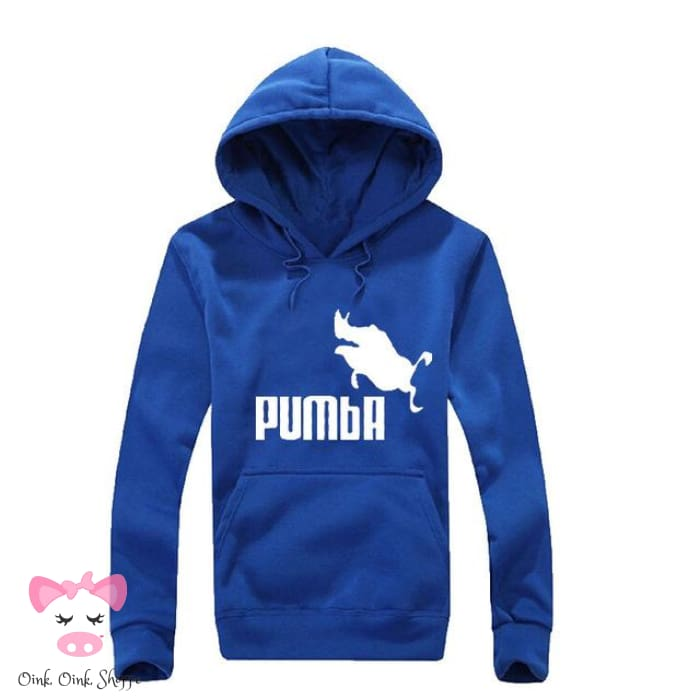 Pumba Must Have Hoodie - Blue/White / M