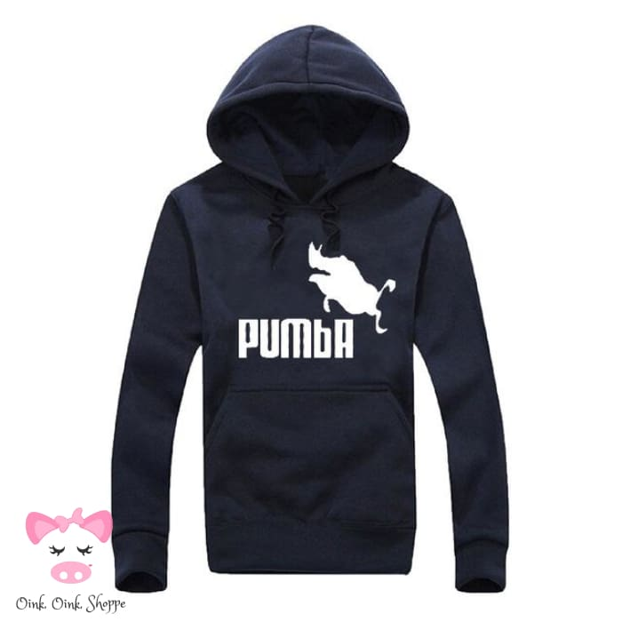Pumba Must Have Hoodie - Navy/White / M