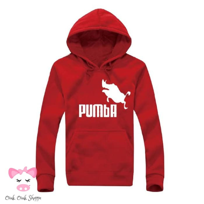 Pumba Must Have Hoodie - Red/White / M