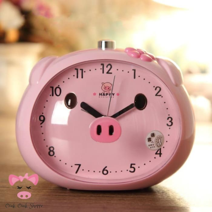 Rise & Swine LED Alarm Clock