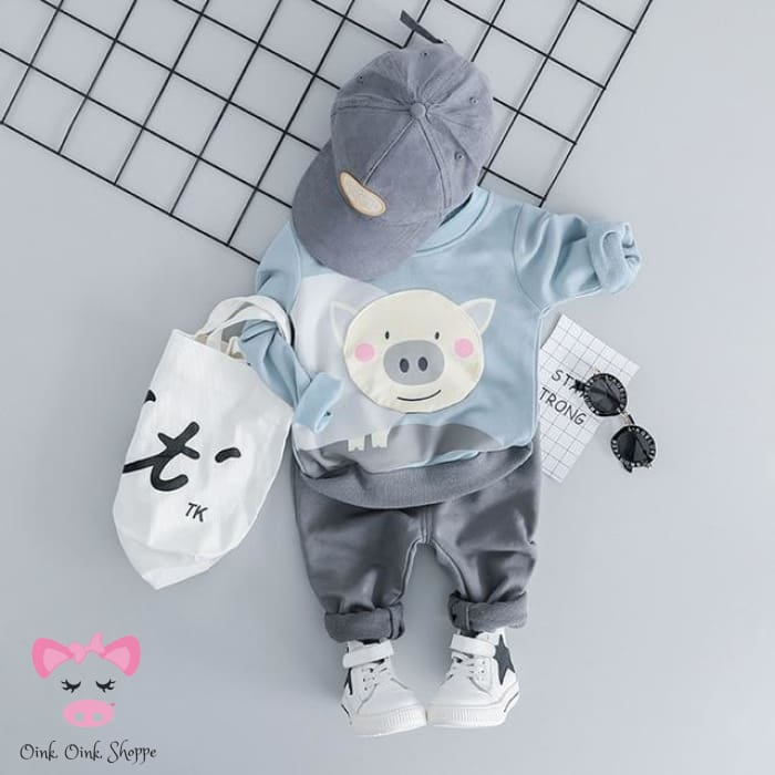 Sammy Swine Outfit - 18M