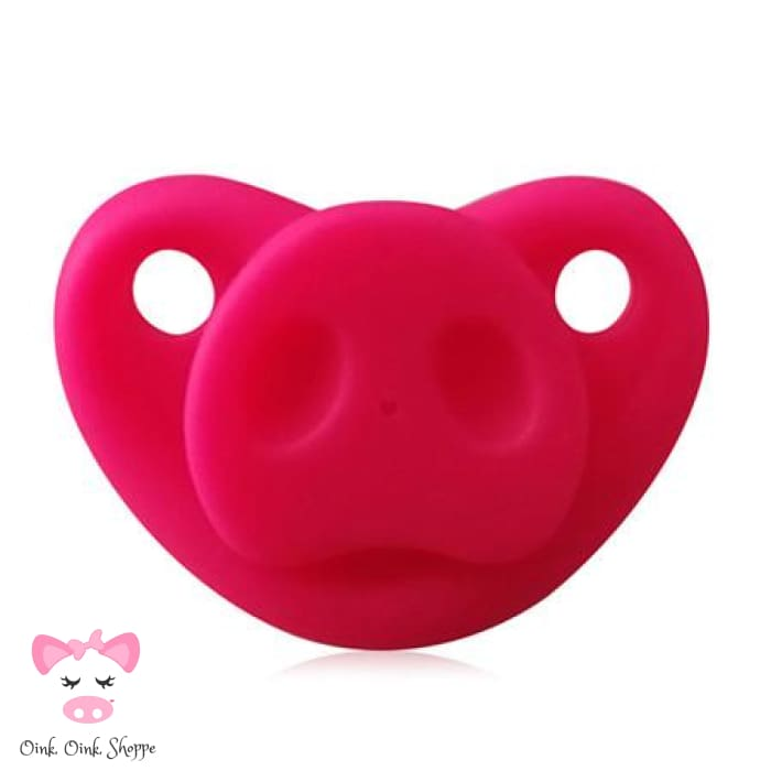 Snouty Pacifier - Hot Pink